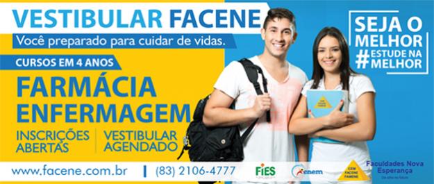 Banner: FACENE