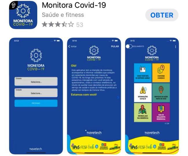 Moradores da Capital que realizarem o cadastro no app serão monitorados e atendidos pelos profissionais da rede municipal de saúde