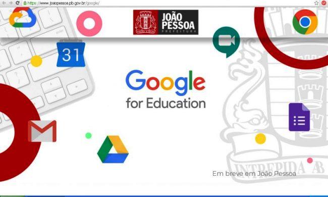 Plataforma Google for Education possibilita o aprendizado em qualquer lugar, hora ou dispositivo
