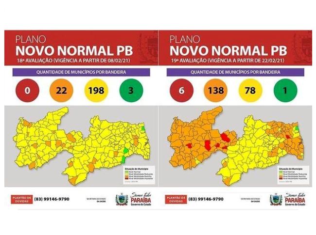 Decisão foi tomada após o aumento dos casos de Covid-19 em vários municípios do Estado
